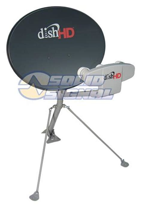 dish network dish1000 4 western arc satellite dish antenna compatible with high definition