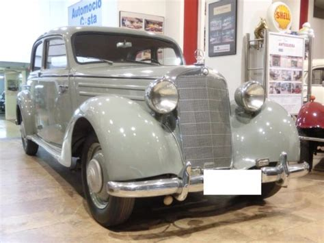 I Want To Buy A Used Mercedes Mercedes 170 Sv 1954 W136 For Sale Photos Technical