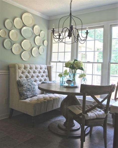 dining room set up french farmhouse breakfast nook makeover formal dining