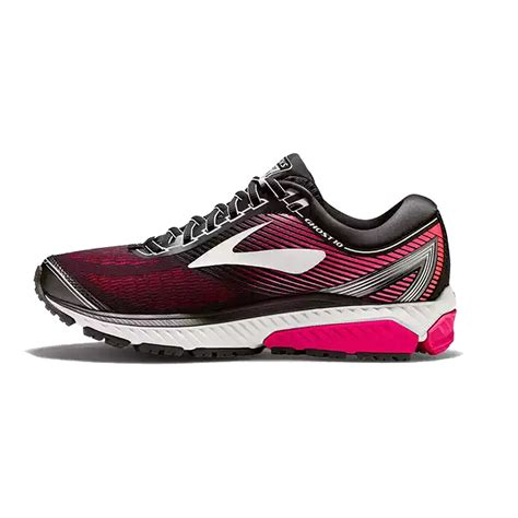 ghost  womens  wide width road running shoes black