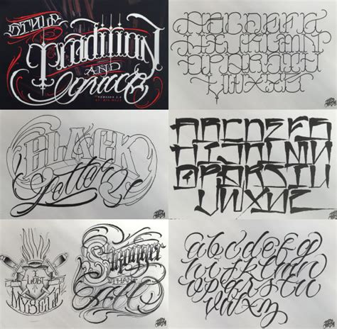 tattoo lettering font books lettering 7 book combo pack bj betts big meas