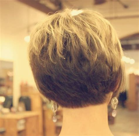 short haircuts showing pic of back of head back view of short haircuts short hairstyles 2017 2018
