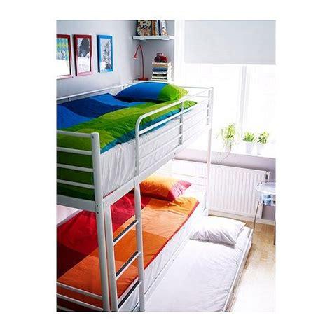 Bunk Bed Mattress Ikea Stapelbed Ikea Troms 246 Met Onderbed Pinteres