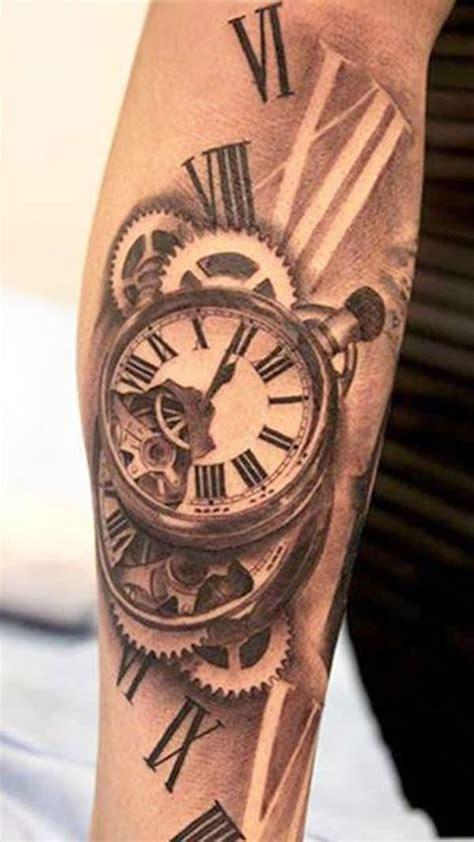 roman numeral clock tattoo 70 numeral tattoos ink will drool