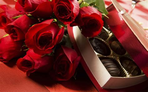 flowers and chocolate happy birthday chocolates with roses hd wallpapers rocks