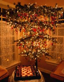Upside Down Chandelier 1000 Images About Upside Down Christmas Tree On Pinterest