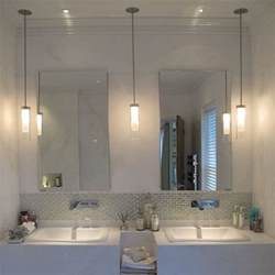 light bulbs for bathroom mirrors best 20 bathroom pendant lighting ideas on