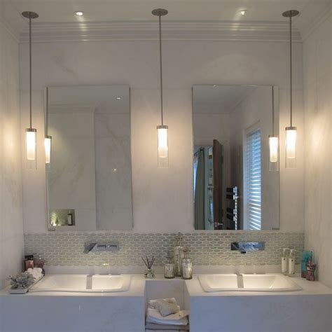 pendant bathroom lighting 25 best ideas about bathroom pendant lighting on