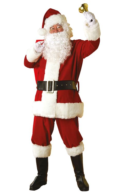 santa suit designed for the larger up to 60 inch chest