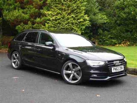 Audi A4 Avant S Line Schwarz by Audi A4 Avant Tdi S Line Black Edition Car For Sale