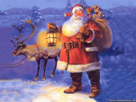 christmas wallpaper with santa claus santa claus wallpaper and background 1600x1200 id 180329