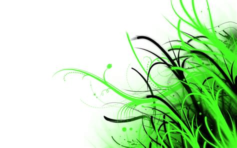 abstract wallpaper green and white by phoenixrising23 on