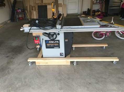 table saw mobile base table saw mobile base workshop table saw