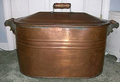 antique copper bathtub for sale antique vintage large copper wash tub boiler pot basin