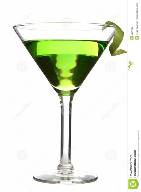 green apple martini bottle appletini stock photo image 2000680
