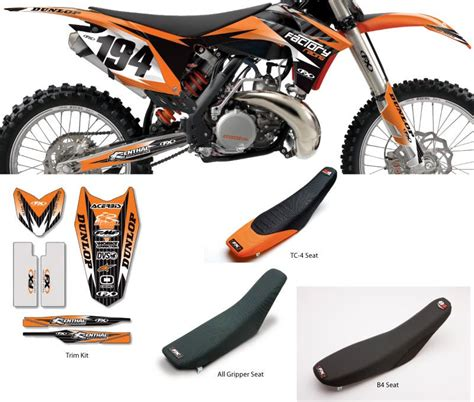 2012 Ktm Graphics Factory Effex 2012 Evo 9 Graphic Kit Ktm Bto Sports