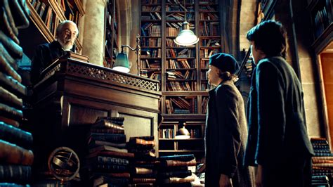 Home Library Lighting by The Best Cinematography Hugo And Martin Scorcese S 3d