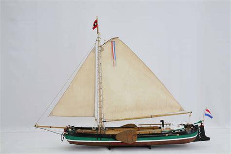 de tjalk schiffsmodell amsterdamer tjalk 19 jahrhundert