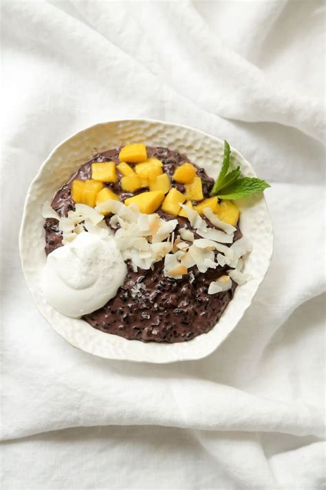 black rice pudding thai coconut black rice pudding nutrition stripped