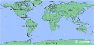 Jamaica On World Map by Where Is Jamaica Where Is Jamaica Located In The World