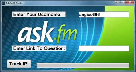 ask fm tracker online ask fm ip tracker updated exe