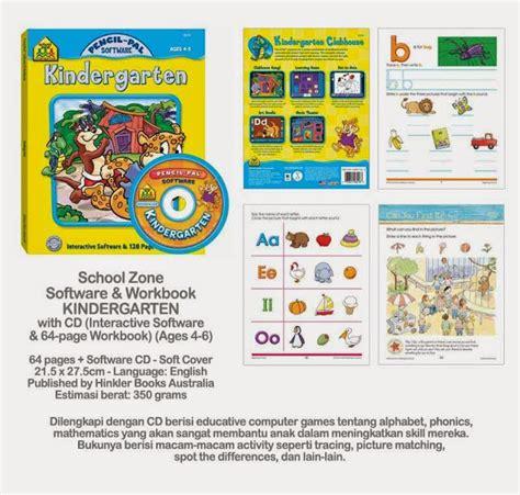 Buku Anak Transformers Spot The Difference planet bayi school zone software workbook kindergarten with cd 98k