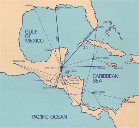 houston to jamaica map belize maps