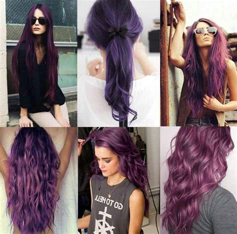 different color purples different types of purple hair ideas hair and booty