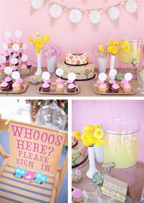Owl Theme Baby Shower by Woodland Owl Baby Shower Hostess With