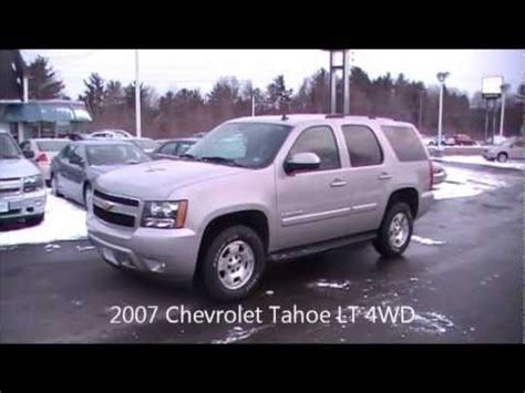 2007 chevrolet tahoe lt 4wd tour crotty chevrolet