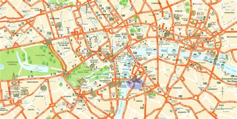 printable map london city centre large london maps for free download and print high