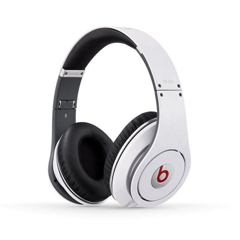 Headset Dr Dre Ori Beats By Dr Dre Refurbished Beats Studio Wired Overear Headphone Studio White Shop Your Way