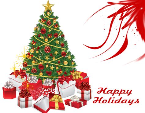 merry christmas tree happy holidays