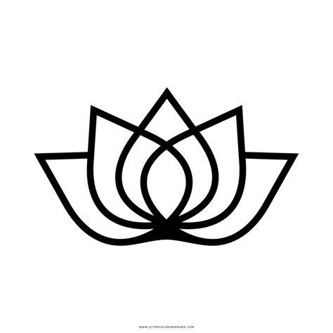 fiore di loto disegno stilizzato fiore di loto disegni da colorare ultra coloring pages con