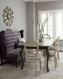 Banquette with chairs let s eat dining room pinterest