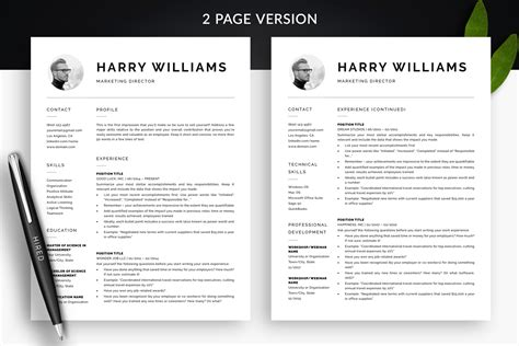 examples of two page resumes best resume summary statement
