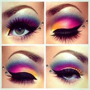 colorful eye makeup bright colorful makeup makeup picture