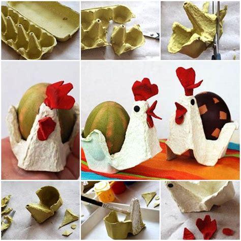 egg carton craft chicken  egg