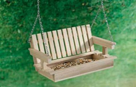 how to make a bird swing fun and unusual bird feeders