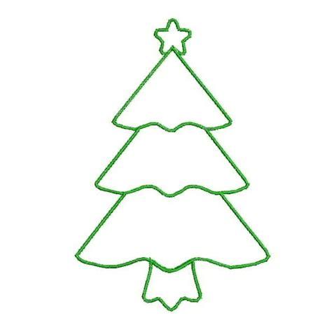 christmas tree outline clip art clipart best