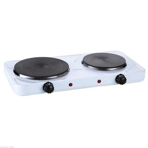bench top electric hot plates portable double electric hot plate hob kitchen cooker