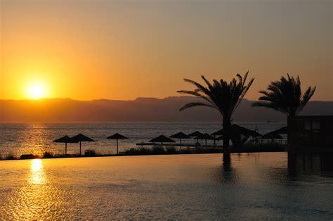 Beautiful Pool by File Sunset From Radisson Blu In Tala Bay Aqaba