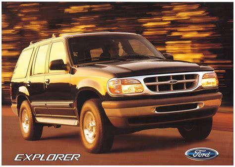 1994 1997 ford explorer brochure