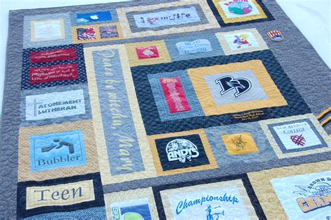 Handmade T Shirt Quilts - custom t shirt quilt quilting