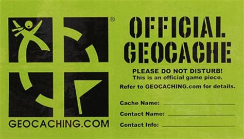 printable geocache label geocaching the new hunt eteknix