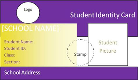student id cards for school military bralicious co