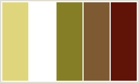 what color is ffffff colorcombo413 with hex colors e0d67d ffffff 867f27