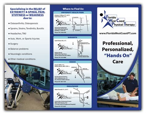 Physical Therapy Brochure Fun Little Tri Fold Brochure For Physcial Therapy Associates Physical Therapy Brochure Templates