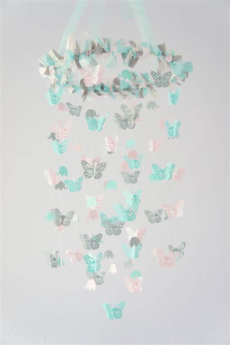 Hijacket Original Hj12 Basic Grey Baby Pink aqua pink gray nursery decor elephants butterflies