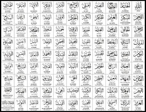 tulisan  asmul husna arab latin  artinya lengkap